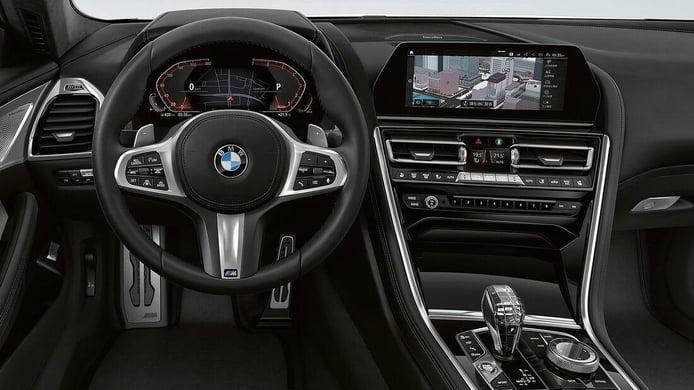 Foto BMW Serie 8 Frozen Black Edition - interior