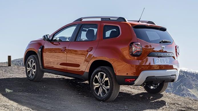 Dacia Duster 2022 - posterior