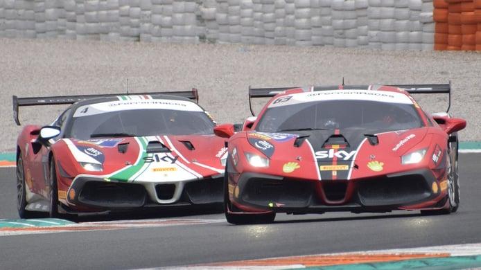 Ferrari Challenge en Cheste
