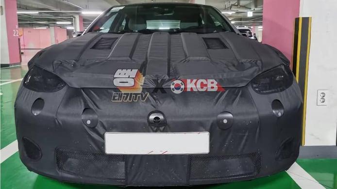Hyundai IONIQ 6 - foto espía frontal