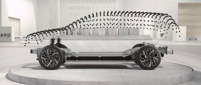 Teaser del Hyundai IONIQ 7 2024
