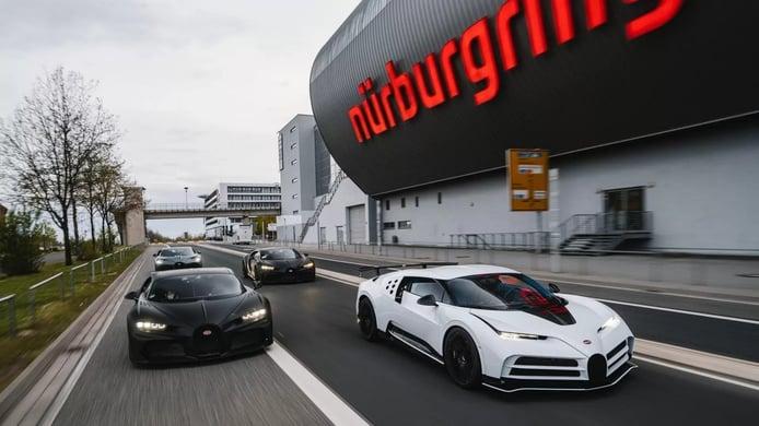 Foto Gama Bugatti en Nürburgring