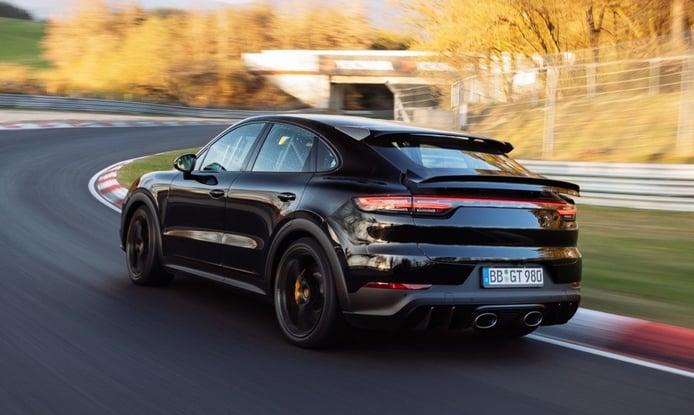 Foto Porsche Cayenne Coupé Turbo S - exterior