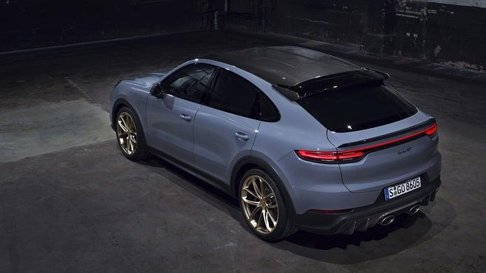 Porsche Cayenne Turbo GT - posterior