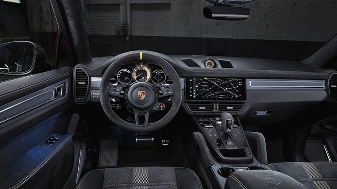 Porsche Cayenne Turbo GT - interior