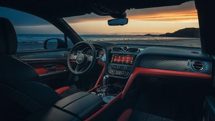 Bentley Bentayga S - interior