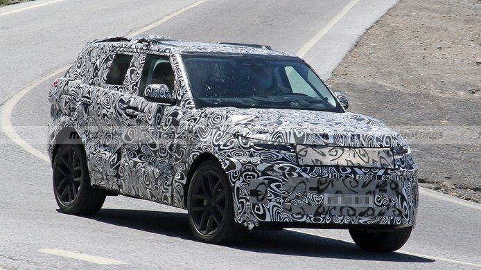 Range Rover Sport 2022 - foto espía