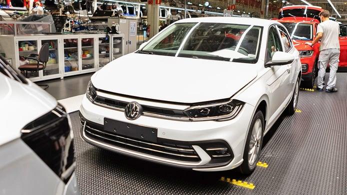 Volkswagen Polo 2021 - producción
