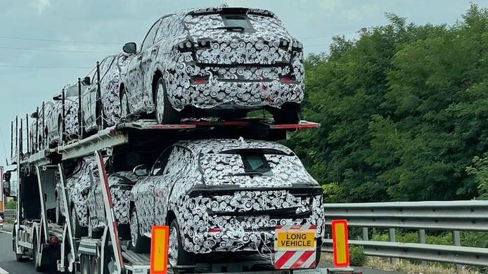 Alfa Romeo Tonale - foto espía posterior