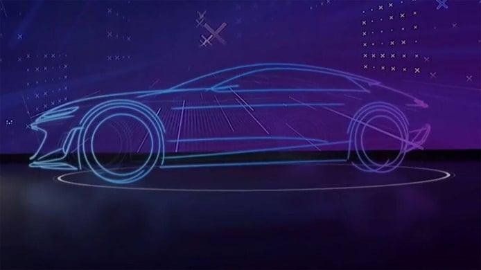 Teaser Audi Grand Sphere - exterior