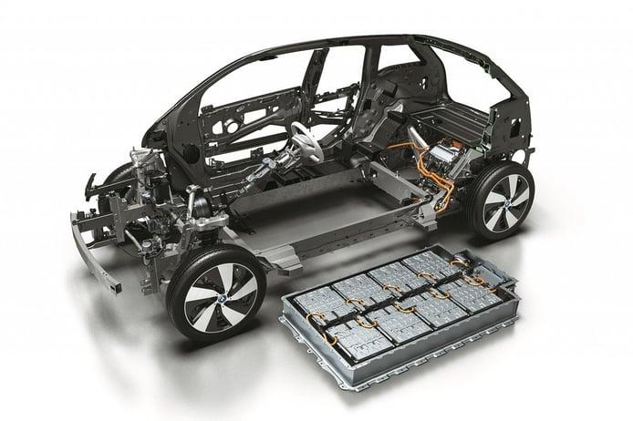 Foto BMW i3 - tecnología