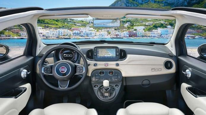 FIAT 500C Yachting - interior