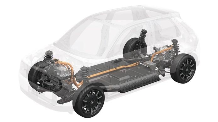 Foto Honda e - tecnología