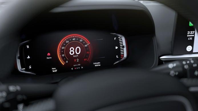 FIAT Pulse - cuadro de instrumentos digital
