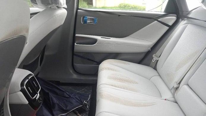 Hyundai IONIQ 6 - foto espía interior