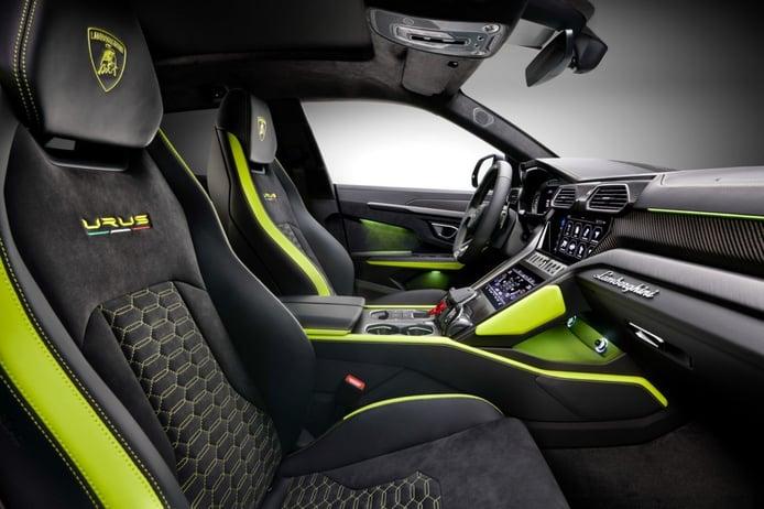 Foto Lamborghini Urus Pearl Capsule - interior
