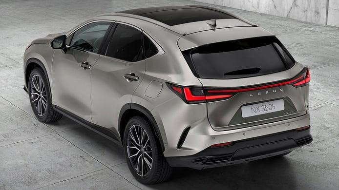Lexus NX 350h 2022 - posterior