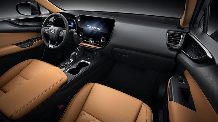 Lexus NX 350h 2022 - interior
