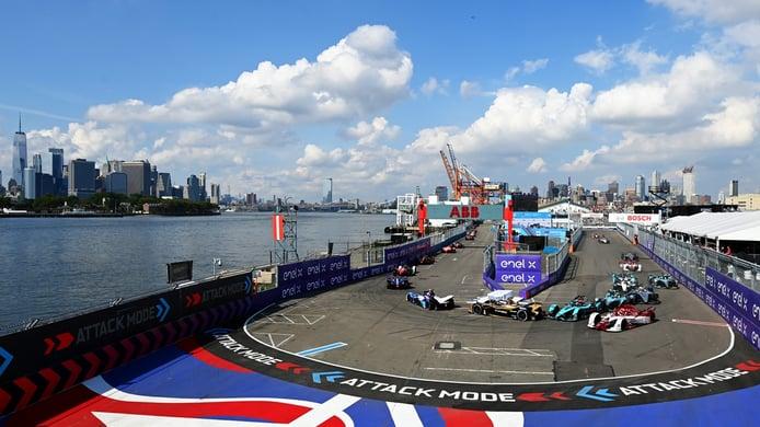 Maximilian Günther tira de pillería para ganar el ePrix de Nueva York