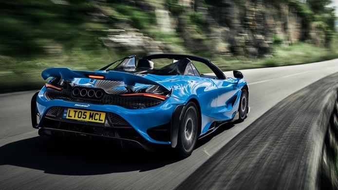 McLaren 765LT Spider - posterior