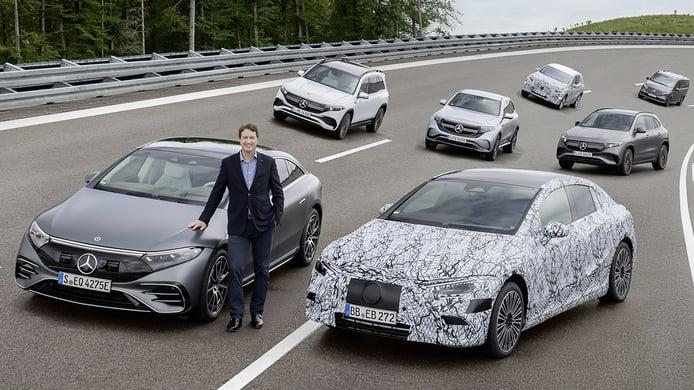 Los nuevos coches eléctricos de Mercedes