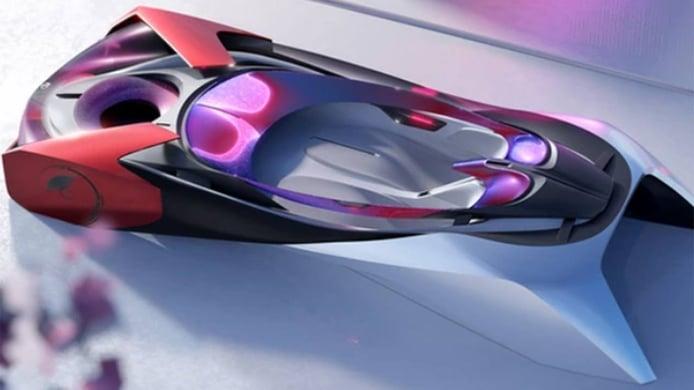 MG Beyond Concept - interior