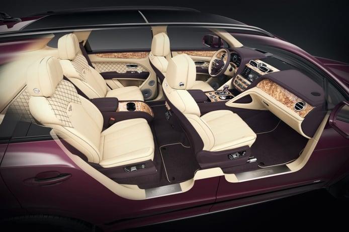 Foto Bentley Bentayga V8 Mulliner - interior