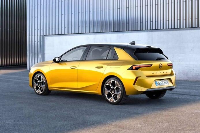 Foto Opel Astra 2022 - exterior