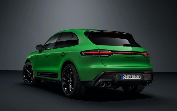 Foto Porsche Macan Facelift 2022 - exterior