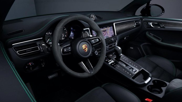 Foto Porsche Macan Facelift 2022 - interior