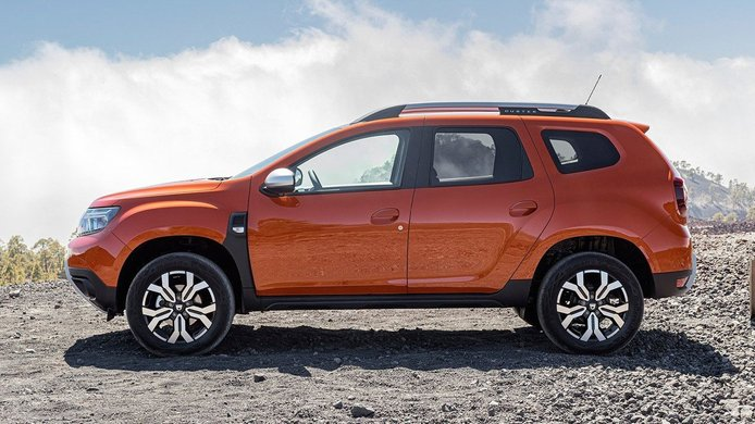 Dacia Duster 2022 - lateral