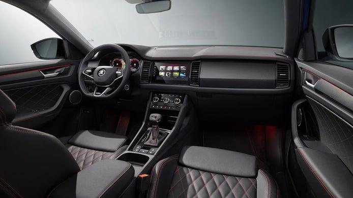 Skoda Kodiaq RS 2021 - interior