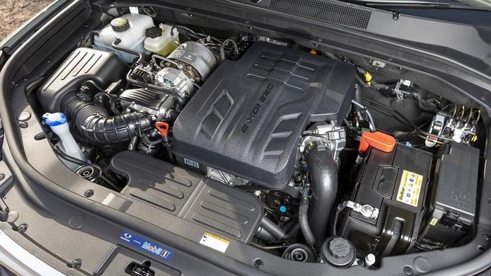 SsangYong Rexton 2022 - motor