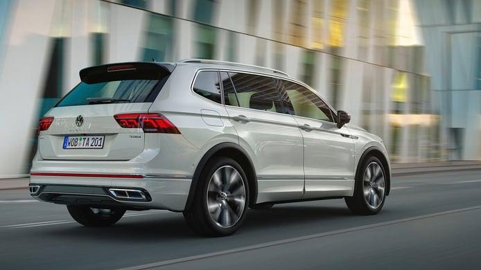 Volkswagen Tiguan Allspace 2022 - posterior