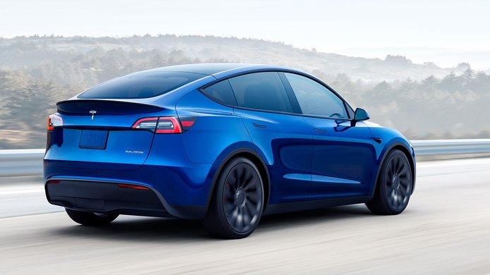 Tesla Model Y - posterior