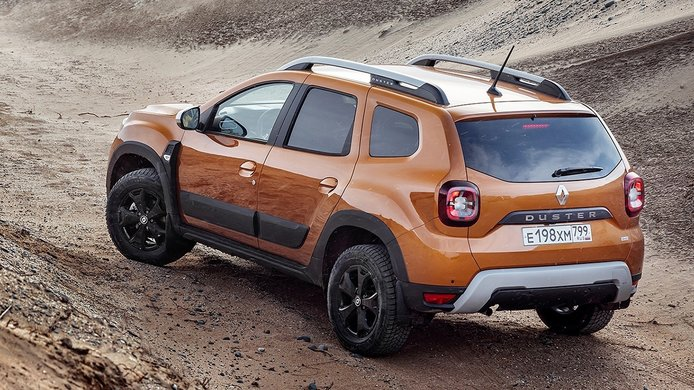 Renault Duster - posterior