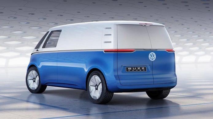 Volkswagen ID. Buzz Cargo - posterior