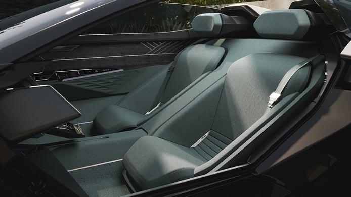 Audi Skysphere Concept - asientos