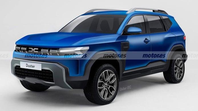 Recreación del Dacia Duster 2024