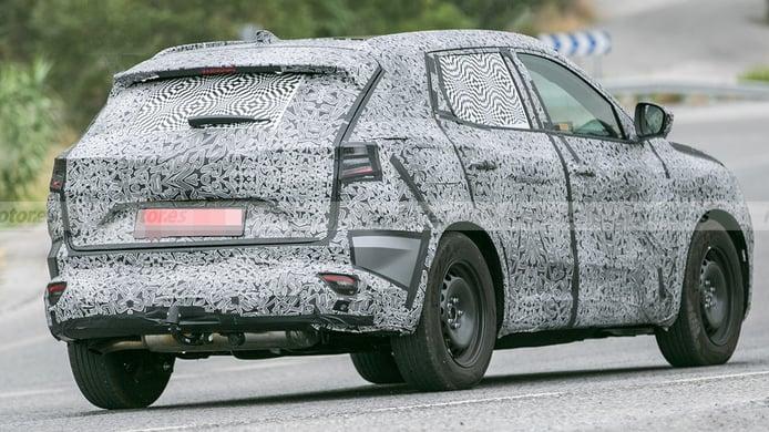 Renault Kadjar 2022 - foto espía posterior
