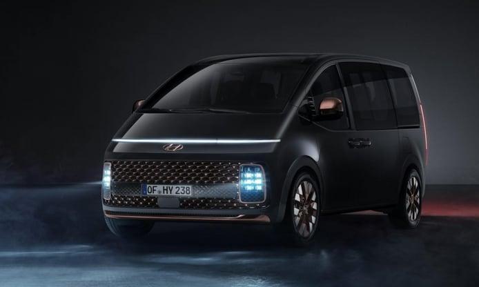 Foto Hyundai Staria 2022 - exterior