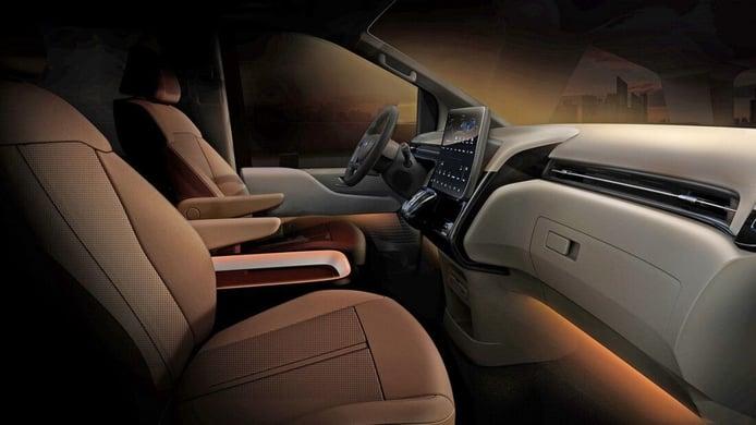 Foto Hyundai Staria 2022 - interior