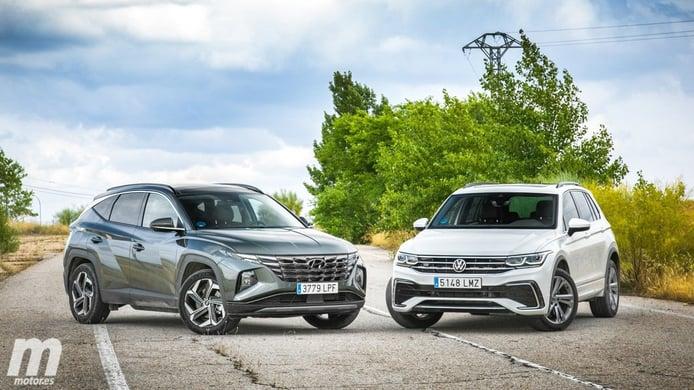 Hyundai Tucson y Volkswagen Tiguan