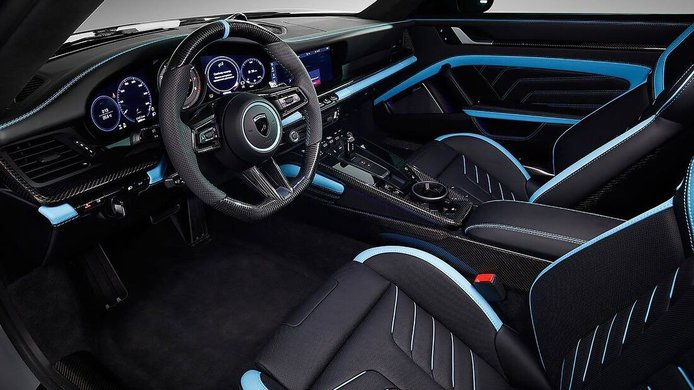 Foto Porsche 911 Stinger GTR Limited Carbon Edition - interior
