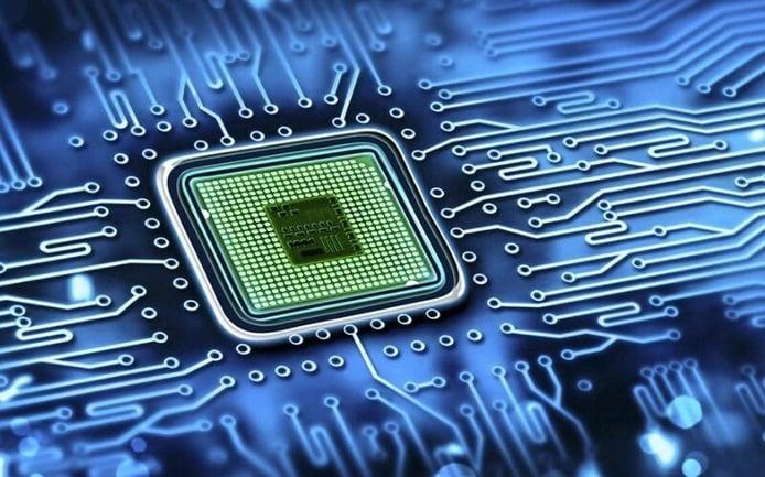 Foto microchip