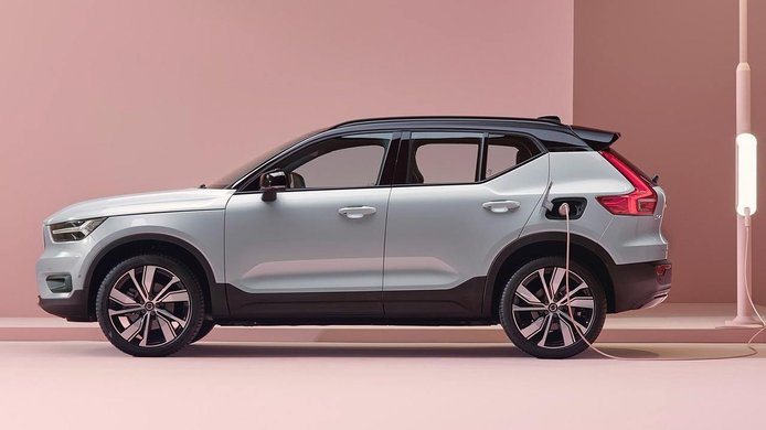 Volvo XC40 Recharge - lateral