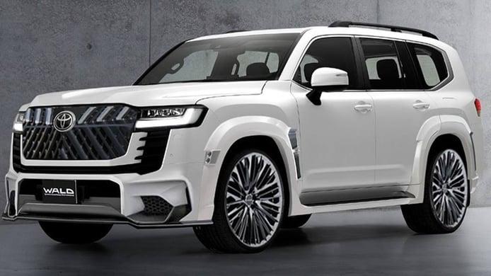 Toyota Land Cruiser 2022 preparado por Wald International