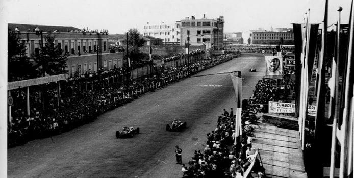 GP de Italia de F1 de 1947 - recta de meta