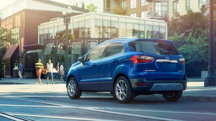 Ford EcoSport - posterior