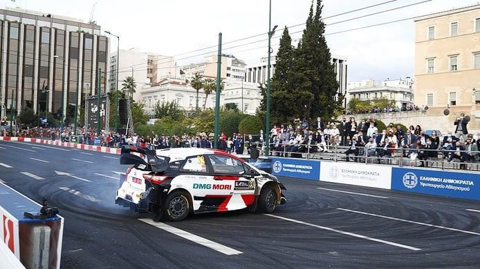 Ogier se impone en el tramo urbano del Acrópolis Rally en Atenas